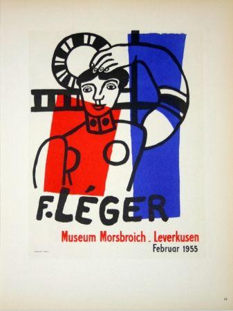 Litografía Leger - Museum  Morsbroich  - Leverkussen 1955