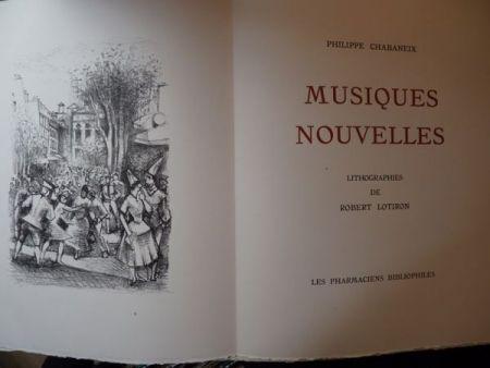 Libro Ilustrado Lotiron - Musiques nouvelles