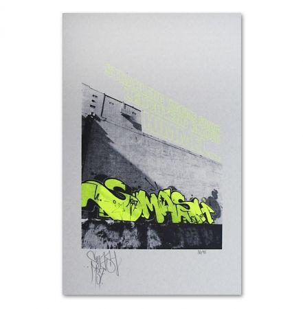 Serigrafía Falkner - My Space yellow