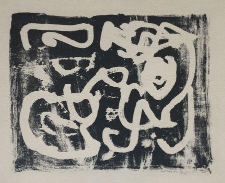 Litografía Alechinsky - Néon
