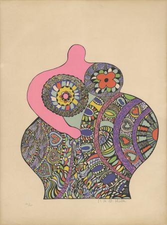 Serigrafía De Saint Phalle - Nana Power : Nana II