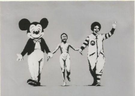 Serigrafía Banksy - Napalm