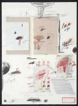 Litografía Twombly - Natural History Part I: Mushrooms IV