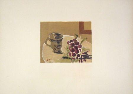Litografía Braque - Nature morte