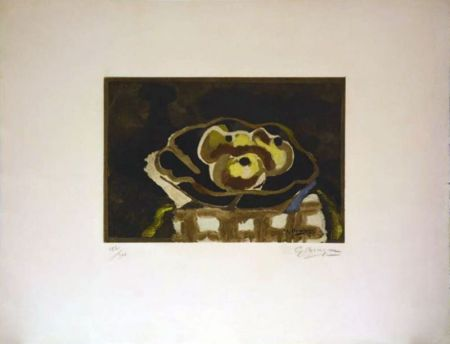 Aguafuerte Braque - Nature morte