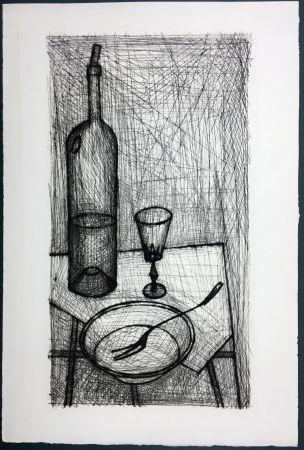 Aguafuerte Buffet - Nature morte pour Recherche de la Purété (1953)