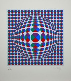 Sin Técnico Vasarely - Neptune Argent