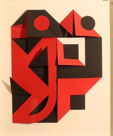 Serigrafía Castellani - Nero e rosso