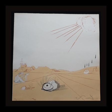 Grabado Dali - Neuf Paysages Espace Paysage from Cobea