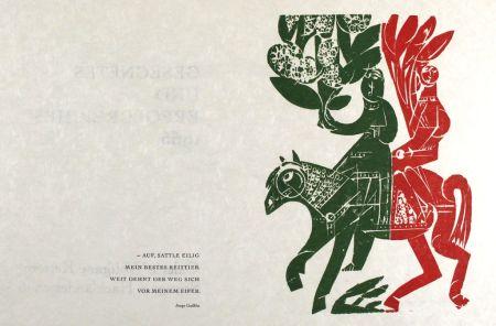 Grabado En Madera Grieshaber - Neujahrsritt