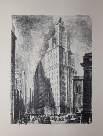 Litografía Lubbers - NEW-YORK