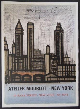 Litografía Buffet - New-York