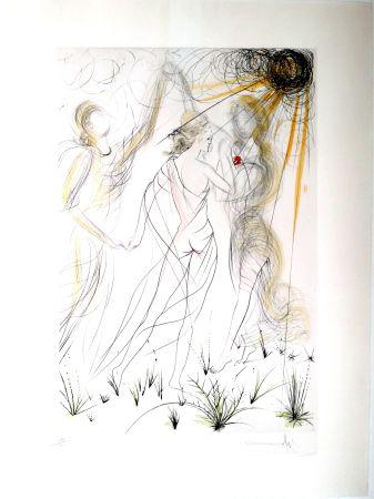 Grabado Dali - New Mythological Suite/ Le Printemps (8)