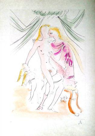 Grabado Dali - New Mythological Suite/ Vénus, Mars et Cupidon (6)