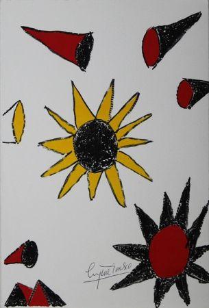 Litografía Ionesco - New Year's Card