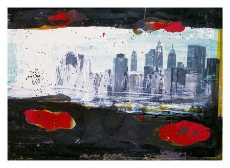 Litografía Soulie - New York