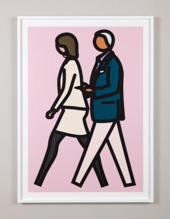 Serigrafía Opie - New York Couple 7