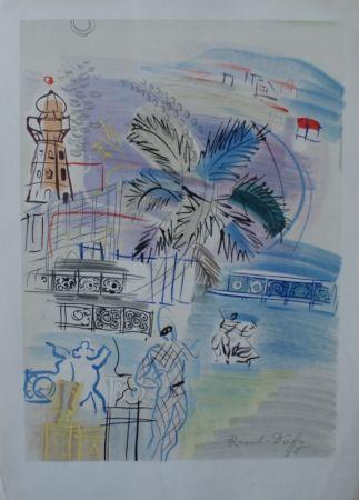 Litografía Dufy - Nice
