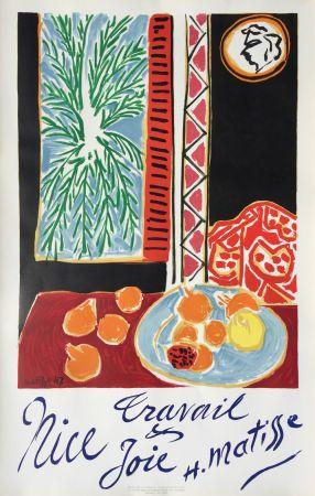 Litografía Matisse - Nice Travail et Joie