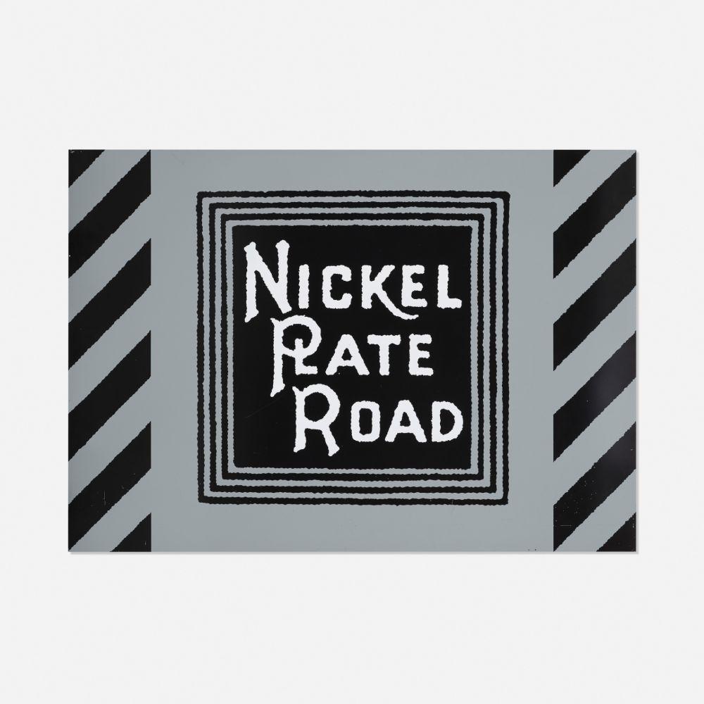 Serigrafía Cottingham - NIckel Plate Road Railway