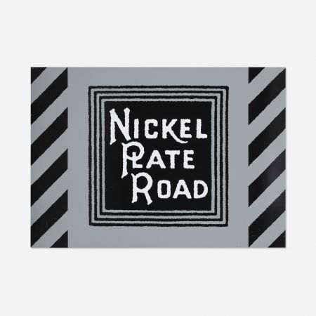 Serigrafía Cottingham - NIckel Plate Road Railway