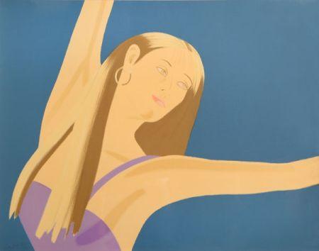 Litografía Katz - Night: William Dunas Dance 4 (Pamela)