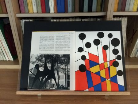 Litografía Calder - No 37