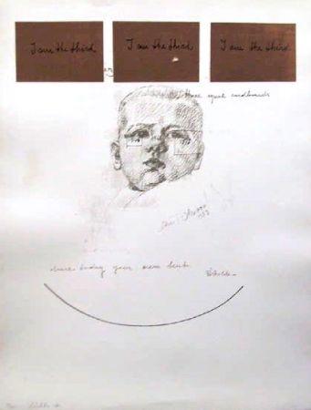 Serigrafía Pistoletto - No. 6 from I am the Third Portfolio