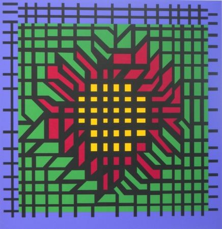 Serigrafía Vasarely - No title