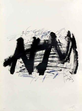 Litografía Tapies - NOCTURN MATINAL