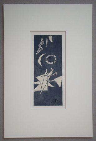 Litografía Braque (After) - Nocturne