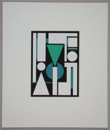 Serigrafía Herbin - Non, 1951