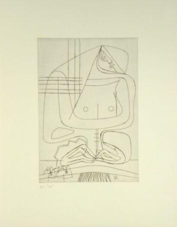 Grabado Le Corbusier -