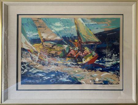 Serigrafía Neiman - North Sea Sailing