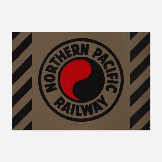 Serigrafía Cottingham - Northern Pacific Railway