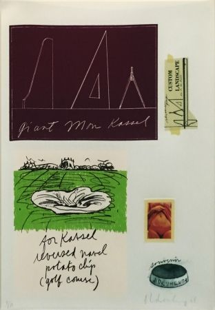 Litografía Oldenburg - NOTES (KASSEL)