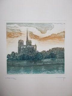 Grabado Ayuso - Notre Dame