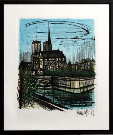 Litografía Buffet - Notre Dame