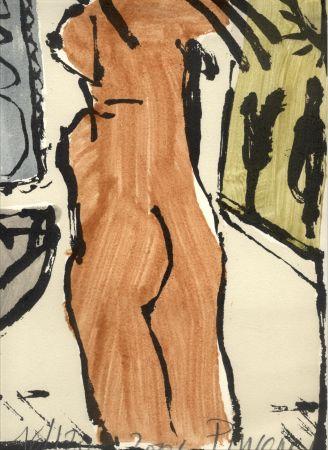 Serigrafía Pincemin - Nu - collection Naked