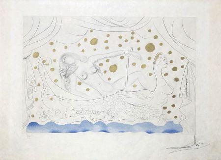 Grabado Dali - Nu au bain