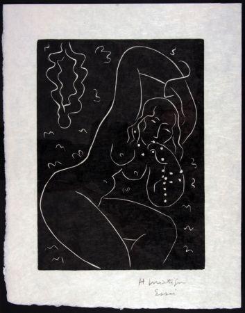 Linograbado Matisse - Nu Au Bracelet