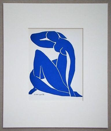 Litografía Matisse - Nu Beu - 1952
