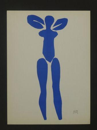 Litografía Matisse - Nu bleu, 1952