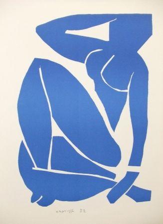 Litografía Matisse - Nu bleu (III)