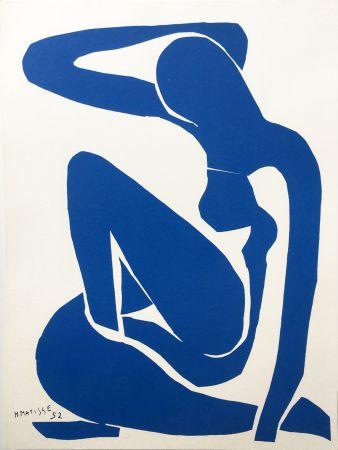 Litografía Matisse - NU BLEU III (1952/1958)