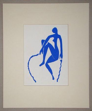 Litografía Matisse (After) - Nu bleu, sauteuse de corde - 1952