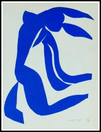 Litografía Matisse (After) - NU BLEU VII