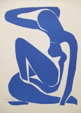 Litografía Matisse - Nu bleu(I)