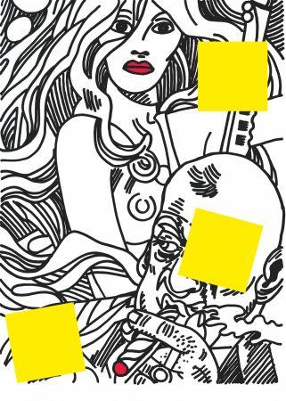 Serigrafía Erro - Nu (Collection Naked)