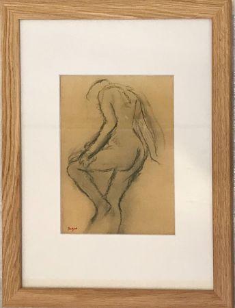 Litografía Degas - Nu de dos